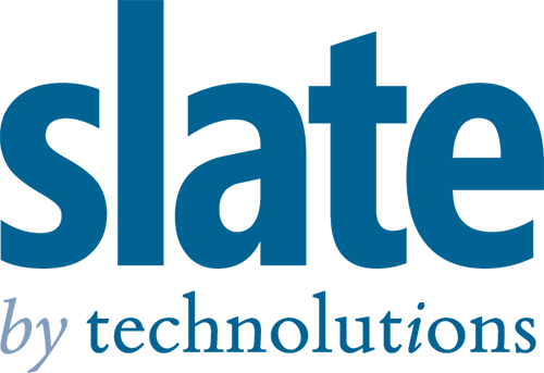 Link to sponsor page for Slate by Technolutions