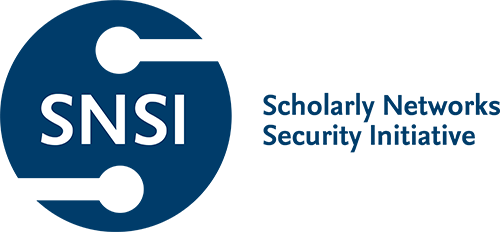 Link to sponsor page for Scholarly Networks Security Initiative (SNSI)